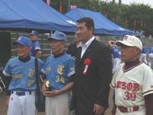 平成23年9月17日 第33回全県500歳野球大会