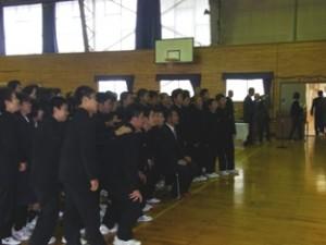 平成23年10月23日 仙北市神代中学校体育文化後援会50周年記念式典対話型講演会