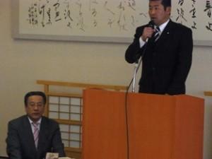 平成24年1月29日 加藤鉱一県政報告会
